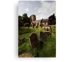 St Margaret, Starston, Norfolk Canvas Print