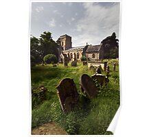 St Margaret, Starston, Norfolk Poster