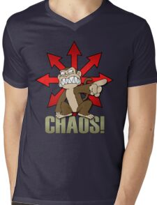 Chaos Monkey New Mens V-Neck T-Shirt