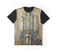 Breda Cathedral organ - vertical Graphic T-Shirt