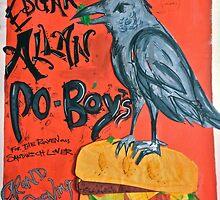 Edgar Allan Po-Boy's by JessRiz