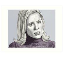 Entropy - Anya Jenkins - BtVS S6E18 Art Print