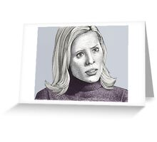 Entropy - Anya Jenkins - BtVS S6E18 Greeting Card
