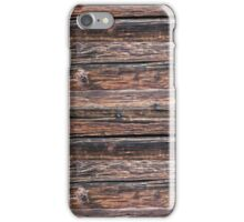 Wood Log Texture iPhone Case/Skin