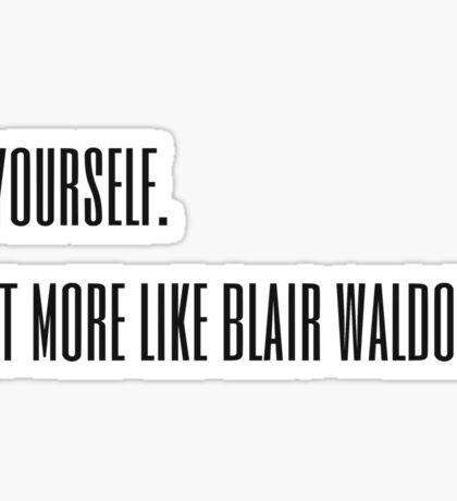 Blair Waldorf Sticker