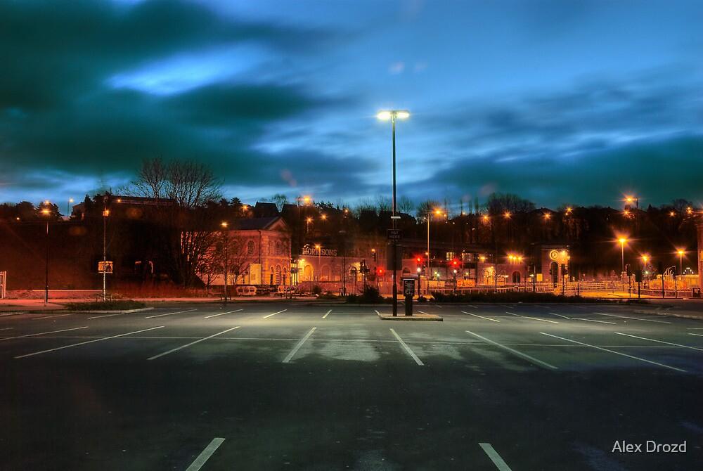 Aldi car park, Kidderminster by Alex Drozd