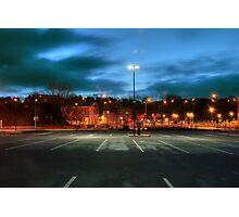 Aldi car park, Kidderminster Photographic Print