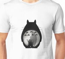 Totoro - Where I Stand #12 (Black Silhouette) Unisex T-Shirt