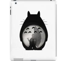Totoro - Where I Stand #12 (Black Silhouette) iPad Case/Skin