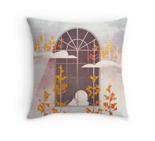Outside The Window Throw Pillow