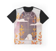Outside The Window Graphic T-Shirt