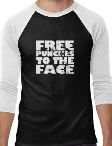 Free punches to the face Men's Baseball ¾ T-Shirt