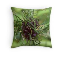 A really bad hair day Throw Pillow