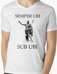 SEMPER UBI SUB UBI Mens V-Neck T-Shirt