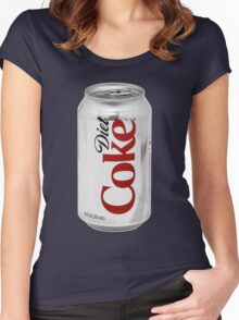 Diet Coke Women's Fitted Scoop T-Shirt