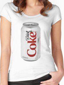 Diet Coke Women's Fitted Scoop T-Shirt