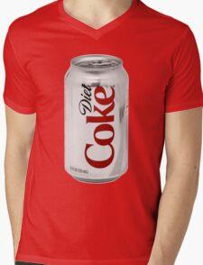 Diet Coke Mens V-Neck T-Shirt