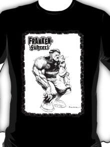 Franken Fuhrer (Bordered) T-Shirt