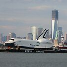 space shuttle enterprise/new york city; 6/3/2012 by Kevin Koepke