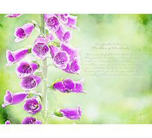 Mother Of The Bride Greeting Card Photographic Print