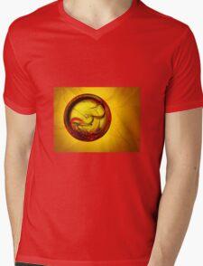 Ring of fire Mens V-Neck T-Shirt