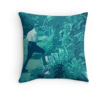 Entering Entally House II Throw Pillow