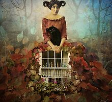 Cosy Autumn ( window series) by Marta Orlowska