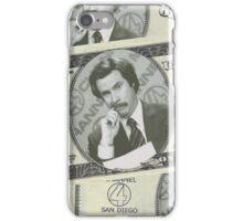 Burgundy Bill iPhone Case/Skin