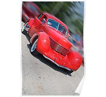 1937 CORD Poster