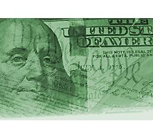 Double exposure finance and government concept Photographic Print