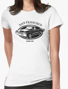 San Francisco High Speed Car Womens Fitted T-Shirt