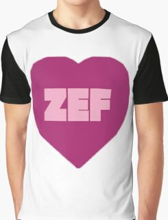 ZEF Graphic T-Shirt