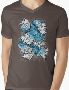 Seven Seas Mens V-Neck T-Shirt