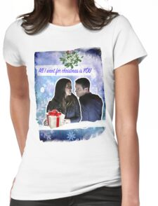 A Skyeward Christmas Womens Fitted T-Shirt