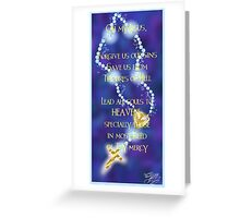 Rosary Prayer Greeting Card