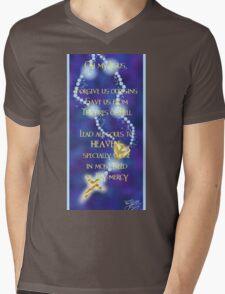 Rosary Prayer Mens V-Neck T-Shirt