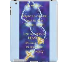 Rosary Prayer iPad Case/Skin