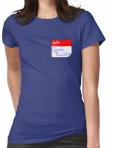 Fight Club Mixer Womens Fitted T-Shirt