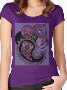 Poisonous Paisley: the Corpse Flowers Women's Fitted Scoop T-Shirt