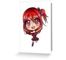 Niri Chibi Greeting Card