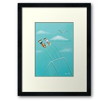 We Played In The Sun 'Swing' Framed Print