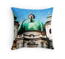 St. Peter´s Church, Vienna Throw Pillow