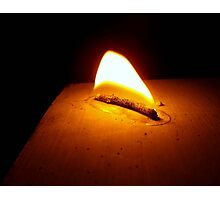 All Flame No Candle Photographic Print