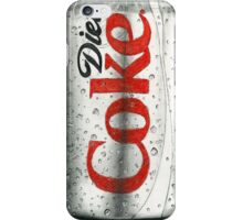 Diet Coke Pencil Drawing iPhone Case/Skin