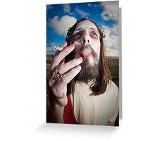 Brighton Zombie Walk  Greeting Card