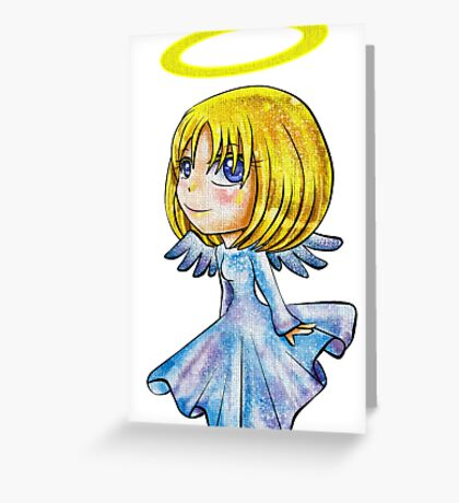 Becky Chibi Greeting Card