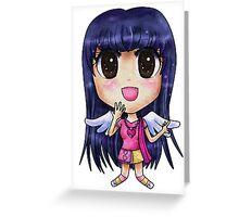 Alice Chibi Greeting Card