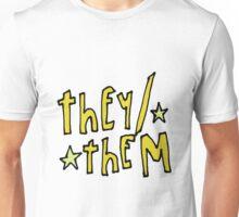 They/Them (pronouns) Unisex T-Shirt