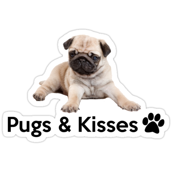 Pugs And Kisses Pugs and kisses! by gemzi-ox: imgarcade.com/1/pugs-and-kisses