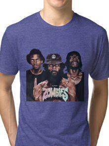 Flatbush Zombies Art Tri-blend T-Shirt